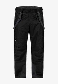 Haglöfs - LUMI LOOSE PANT - Snow pants - true black - 4