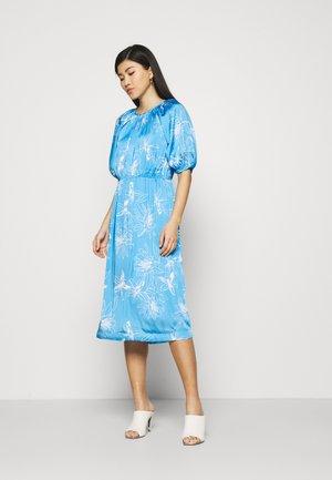 FLORAL DRES 2-IN-1 - Day dress - light blue