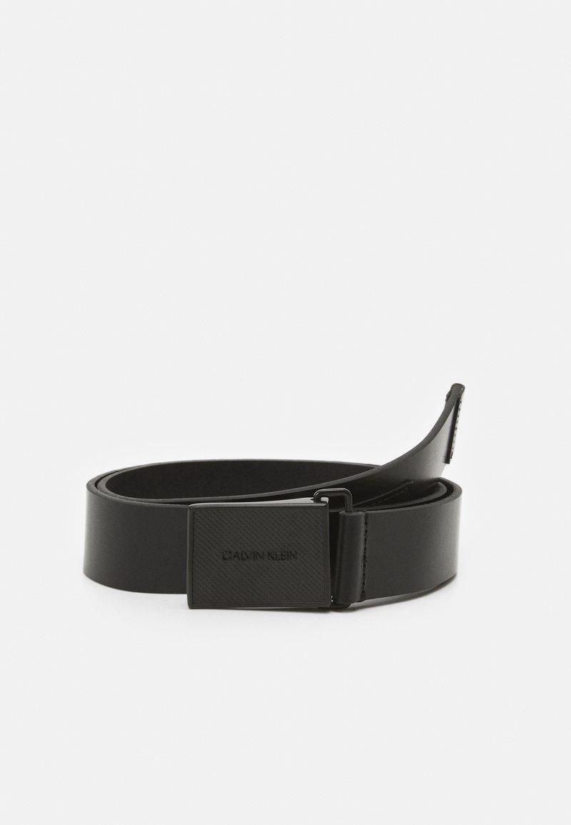 Calvin Klein - PLAQUE TONAL - Pásek - black
