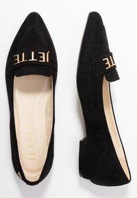 JETTE - Ballet pumps - black - 3