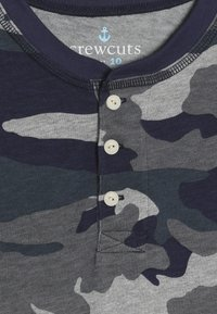 J.CREW - CAMO HENLEY - Long sleeved top - heather slate - 4