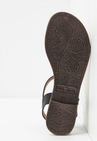 TOM TAILOR - T-bar sandals - black - 6