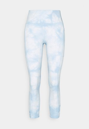 LOVE YOU A LATTE 7/8 - Leggings - baby blue