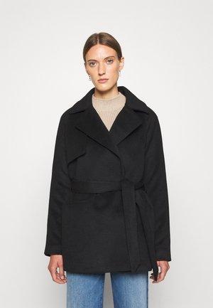 2ND LANA - Krátký kabát - black