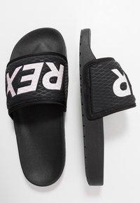 adidas Performance - TERREX ADILETTE SLIDES - Sandali da bagno - core black/footwear white - 1