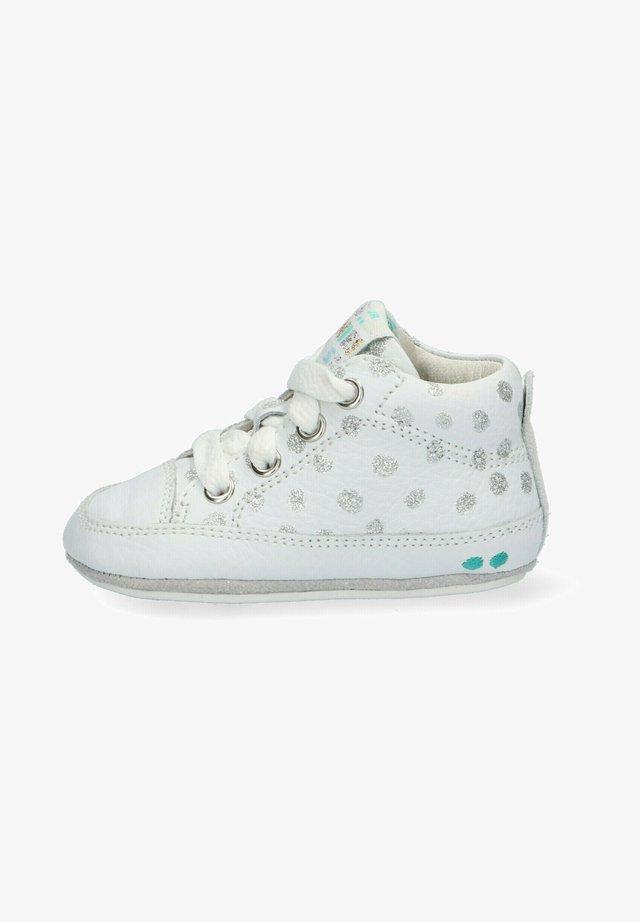 ZUKKE ZACHT - Sneakers hoog - white