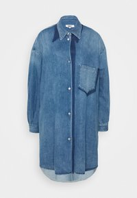 MM6 Maison Margiela - Denim dress - medium cast/shadow - 0