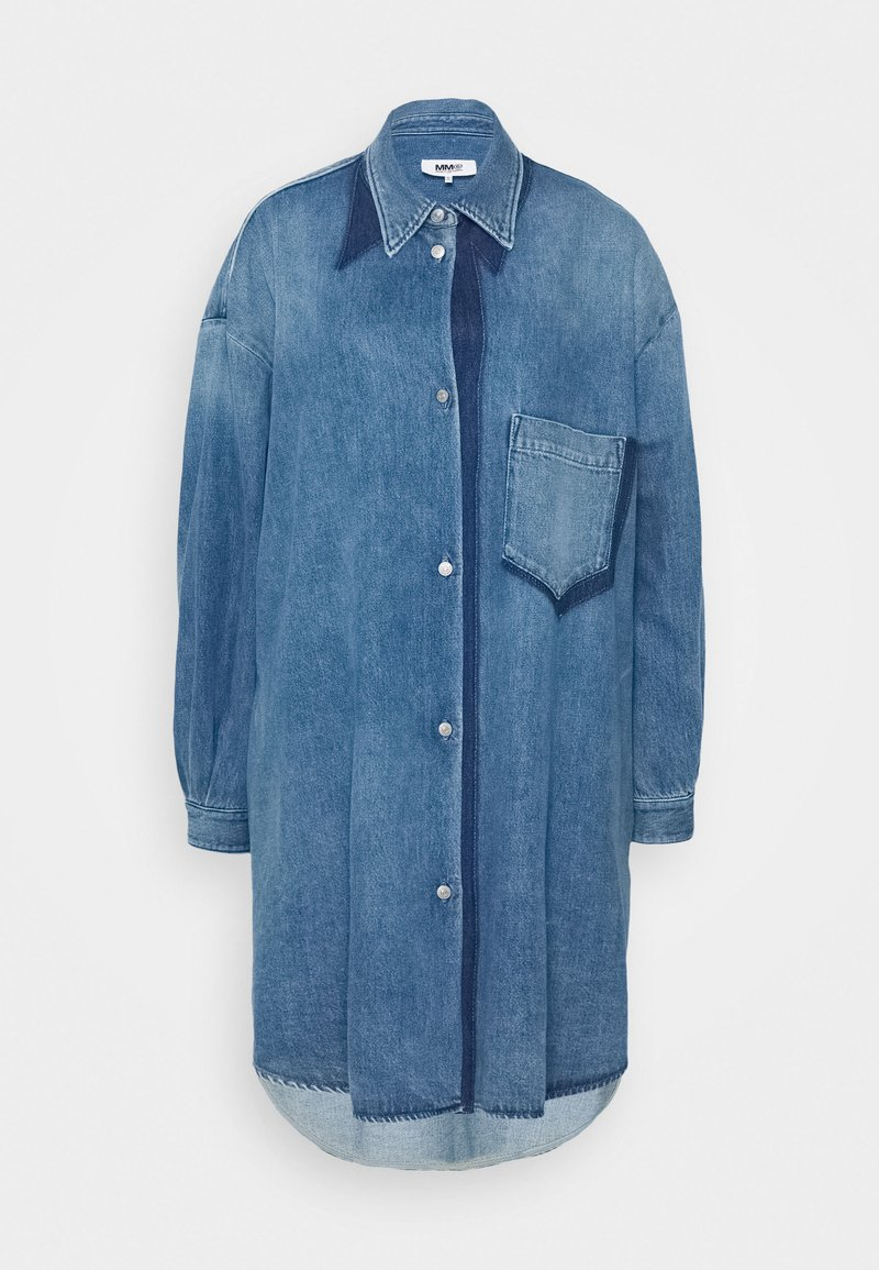 MM6 Maison Margiela - Denim dress - medium cast/shadow