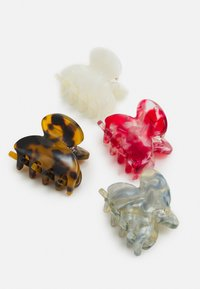 ONLY - ONLSOFIA HAIR CLIP 4 PACK - Hair styling accessory - cloud dancer mix - 2
