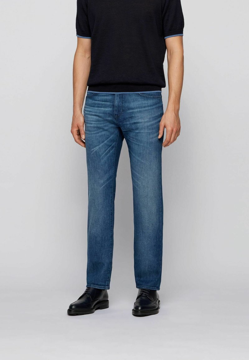 BOSS - Straight leg jeans - blue