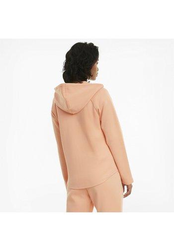 Zip-up sweatshirt - apricot blush