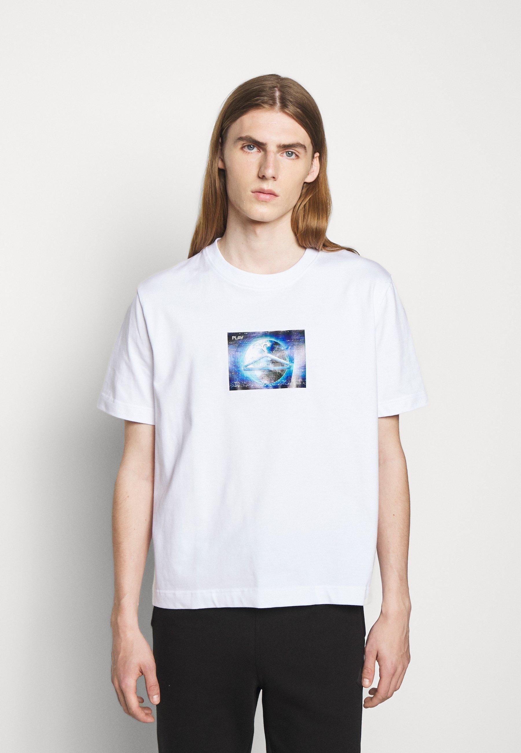 Homme HANGER GLOBAL PRINT TEE - T-shirt imprimé