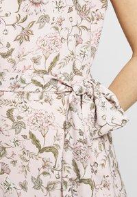 Lauren Ralph Lauren - VILODIE CAP SLEEVE CASUAL DRESS - Vestido informal - pink multi - 7