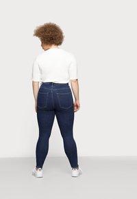 ONLY Carmakoma - CAROP LIFE SUPER - Jeans Skinny Fit - dark blue denim - 2