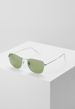 UNISEX SUNGLASSES - Sunglasses - silver-coloured/ green