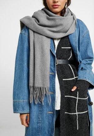 Schal - medium grey melange