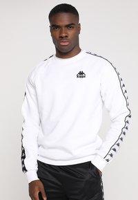 Kappa - EDWIN - Sweatshirt - white - 0