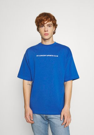 SALVE TEE UNISEX - T-shirt print - blue
