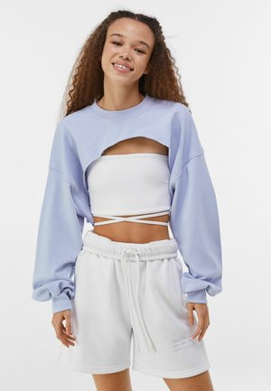 MIT ÄRMELN  - Sweatshirt - light blue