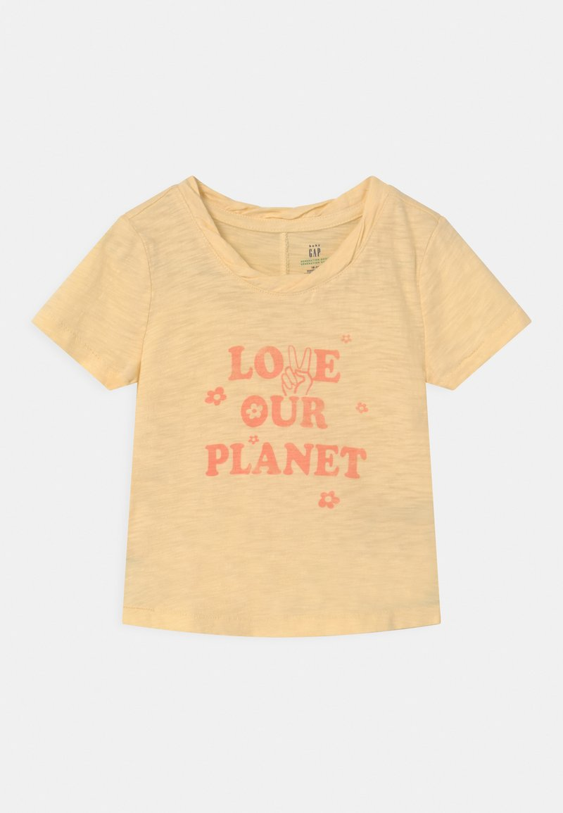GAP - TODDLER GIRL EASY  - Print T-shirt - yellow