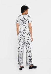 Desigual - MIKONOS - Jumpsuit - white - 2