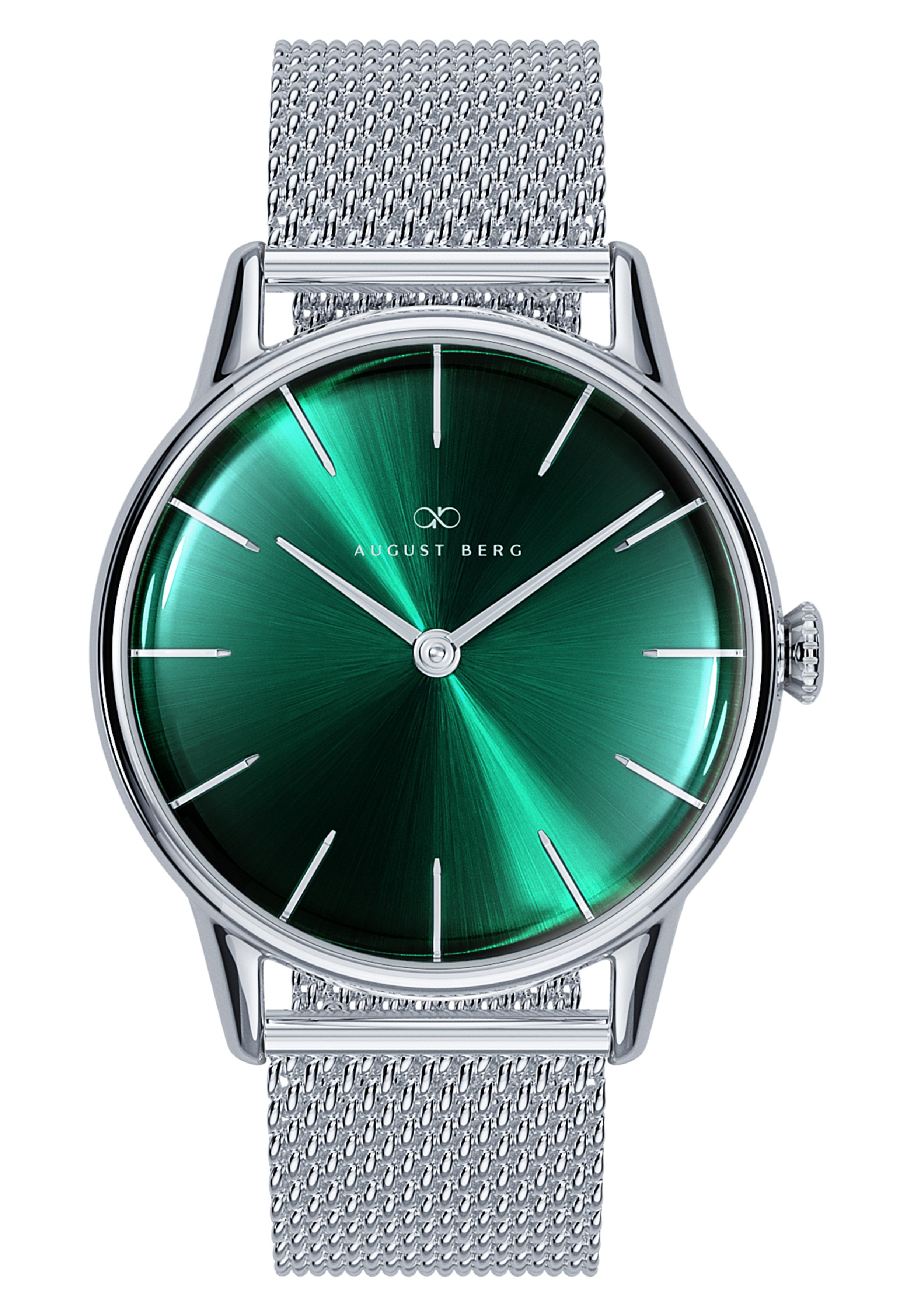 Homme UHR SERENITY GREENHILL SILVER SILVER MESH 32MM - Montre