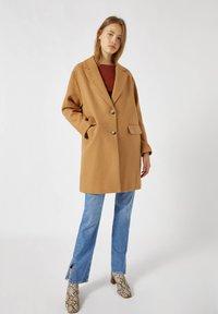 PULL&BEAR - Short coat - camel - 1