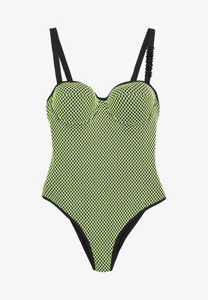 SWIMSUIT - Swimsuit - yellow
