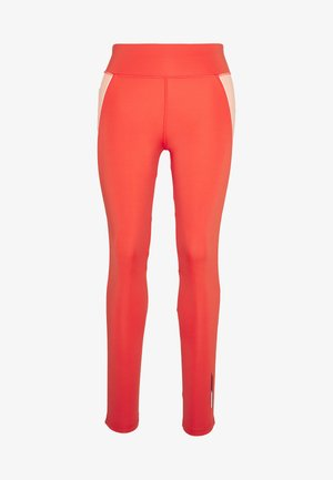 HIGHWAIST TRAINING LEGGING - Medias - orange