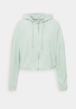 ONLLAYA - Zip-up hoodie - surf spray
