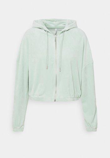 ONLLAYA - Zip-up hoodie - surf spray