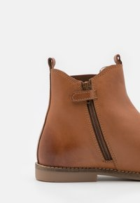 Friboo - LEATHER BOOTIES - Classic ankle boots - cognac - 5