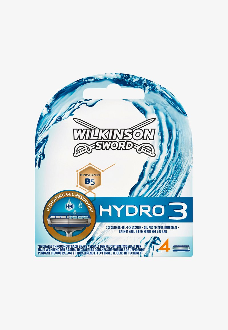 Wilkinson Sword - HYDRO 3 BLADES 4PCS - Hair removal Accessory - -