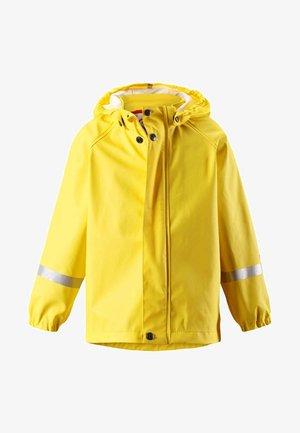 LAMPI WASSERDICHT - Waterproof jacket - gelb