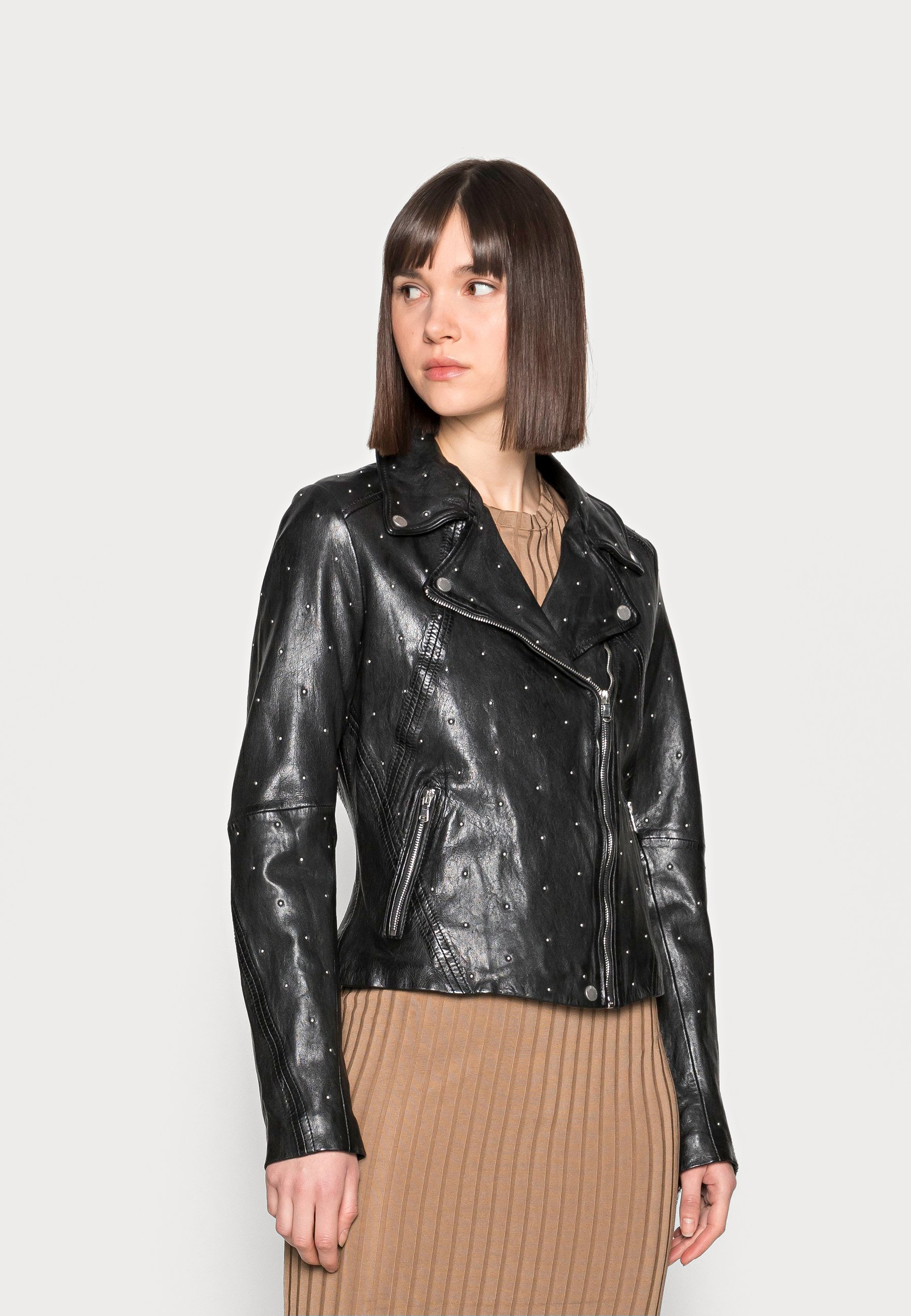 Women STAR BRIGHT - Leather jacket