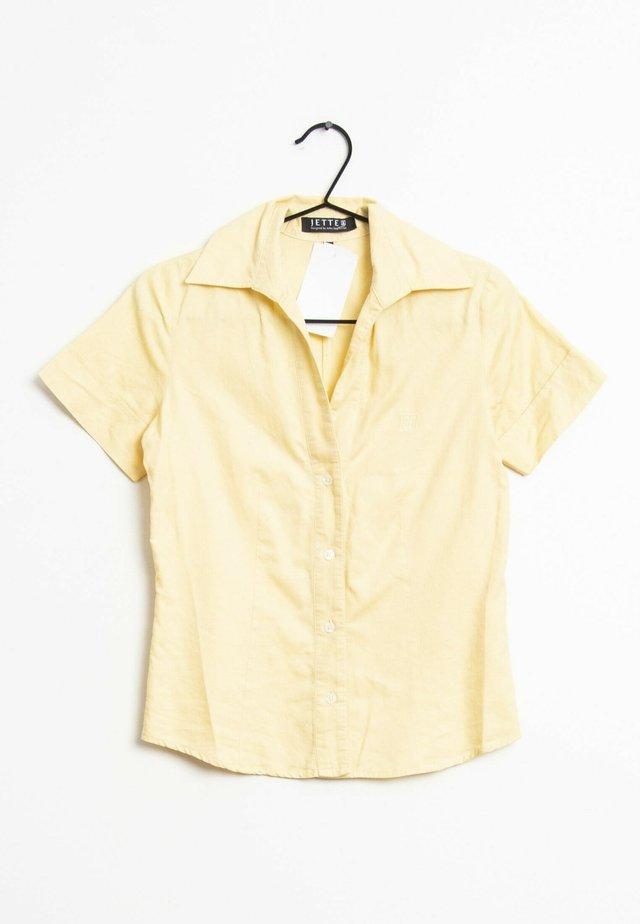 Overhemdblouse - yellow