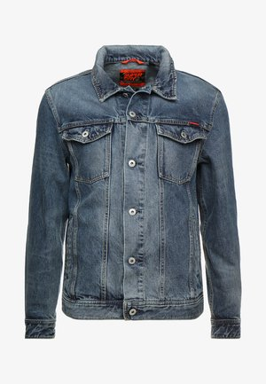HIGHWAYMAN TRUCKER - Veste en jean - vale mid blue