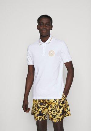 PLAIN  - Poloshirts - white/gold