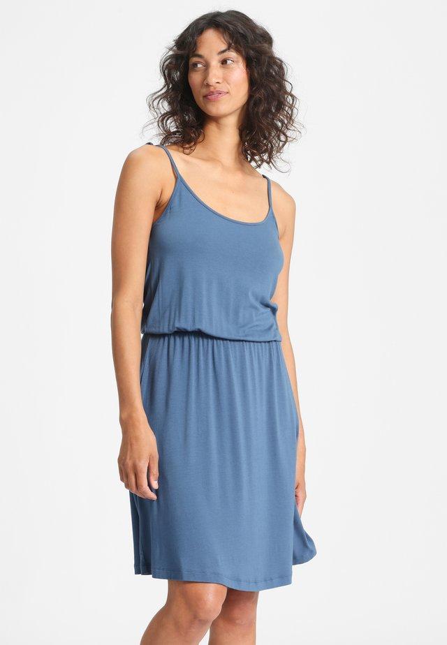 SOPHIA - Jersey dress - blue