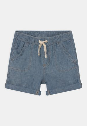 CHAM - Denim shorts - blue chambray