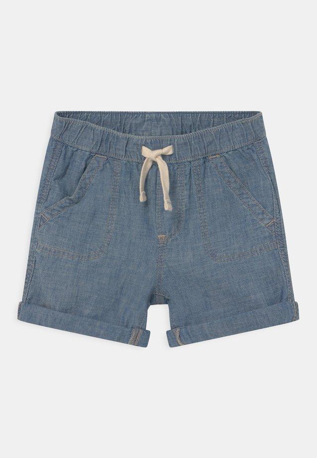 CHAM - Shorts di jeans - blue chambray