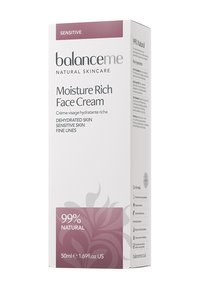 Balance ME - MOISTURE RICH FACE CREAM 50ML - Dagcrème - neutral - 1