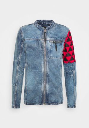 BEBORIS - Denim jacket - indigo mid