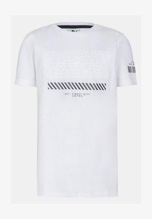 LENNY TSHIRT - T-shirt print - white