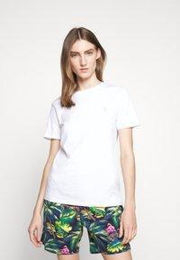 Polo Ralph Lauren - Camiseta básica - white/ant neon - 3