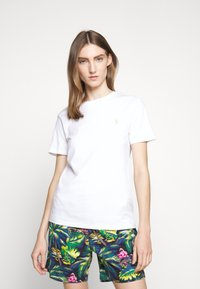 Polo Ralph Lauren - Basic T-shirt - white/ant neon - 3