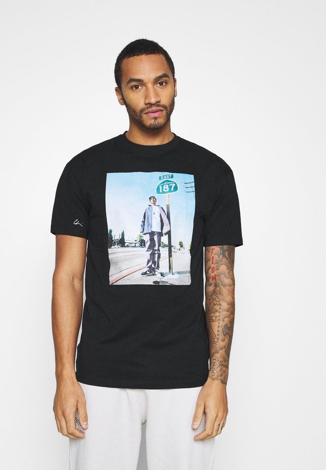 SNOOP 187 - T-shirt med print - black