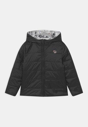 PUFFER REVERSIBLE - Zimní bunda - black