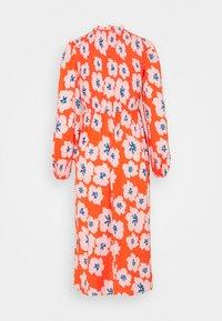 Never Fully Dressed Petite - SWEDISH FLOWER MIDAXI DRESS - Day dress - orange - 1