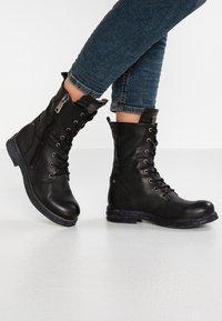 Replay - EVY - Cowboy/biker ankle boot - black - 0